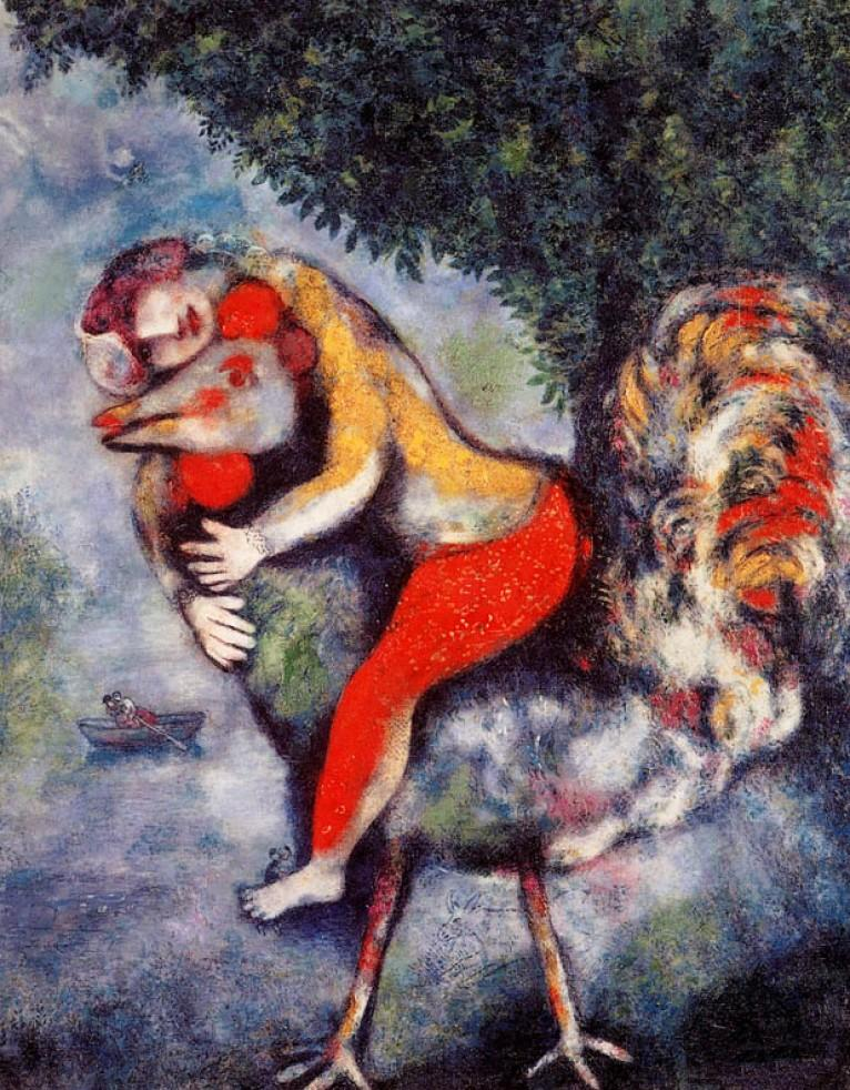 Marc Chagall - The Rooster - 1929