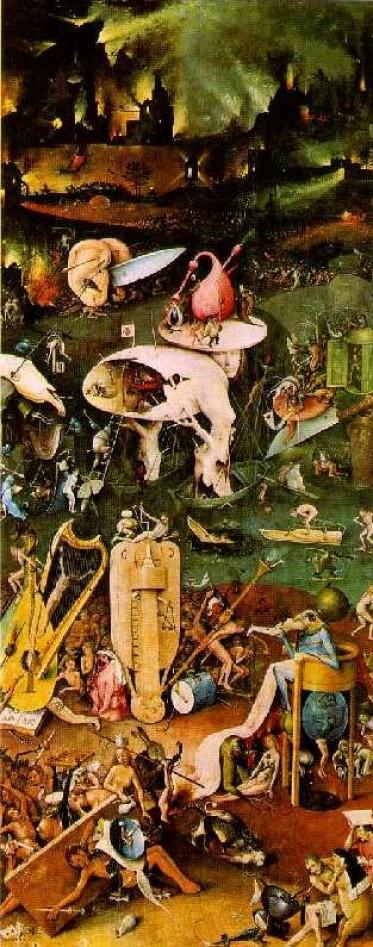 Hieronymus Bosch The Garden Of Earthly Delights 1504